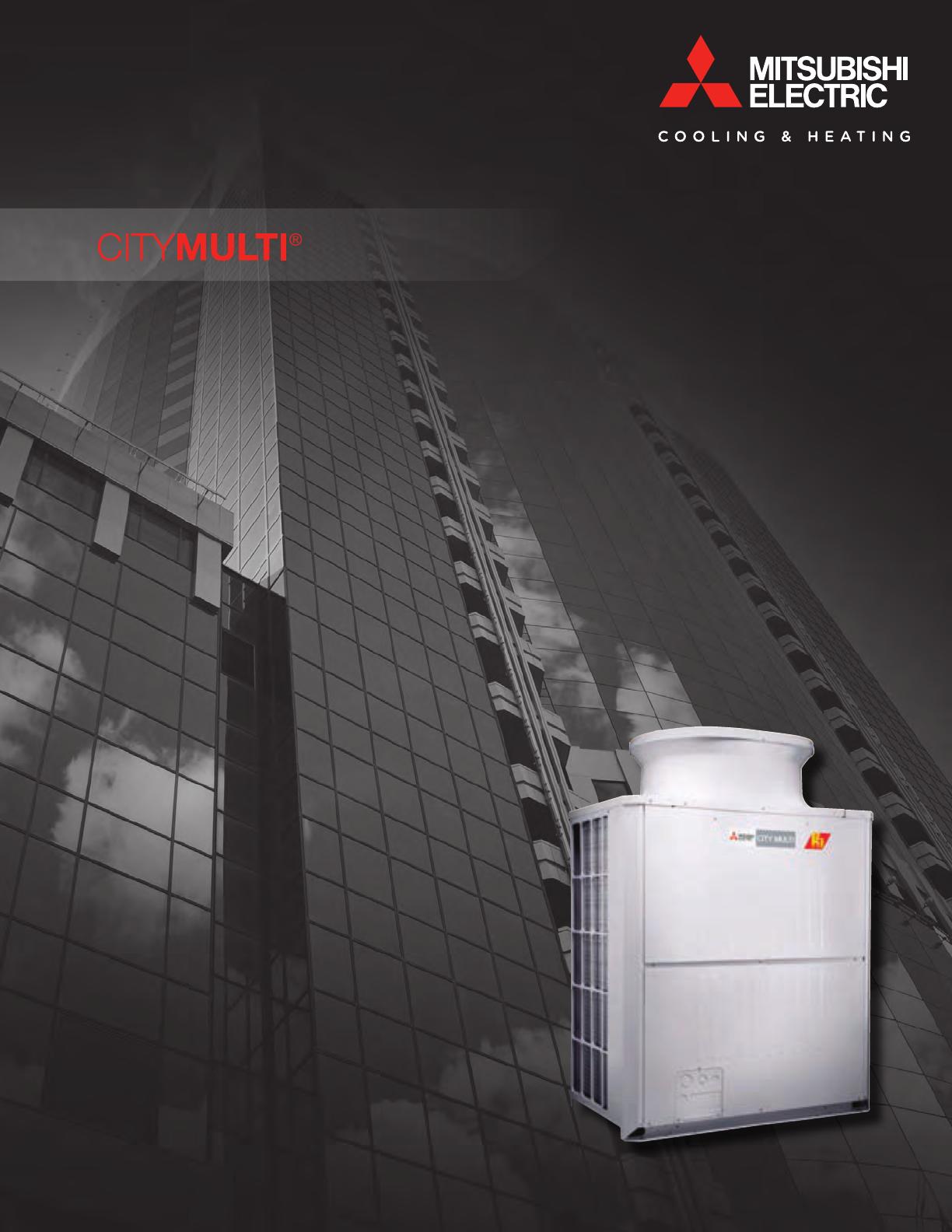 MITSUBISHI ELECTRIC Cooling & Heating / CITY MULTI / FC1 V