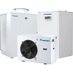 Residential chillers and heat pumps